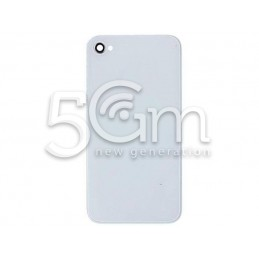 Iphone 4 White Back Cover Without Logo