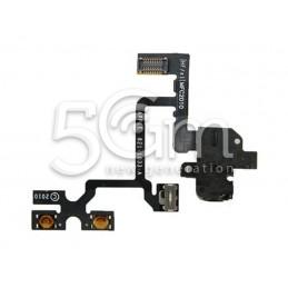 Flat Cable Jack Nero Iphone 4g