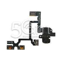 Iphone 4g Black Jack Flat Cable