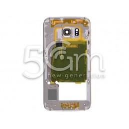Samsung SM-G925 S6 Edge Full Gold Middle Frame