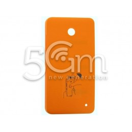 Nokia 630-635 Lumia Orange Back Cover
