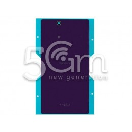 Xperia Z Ultra Purple Back Cover