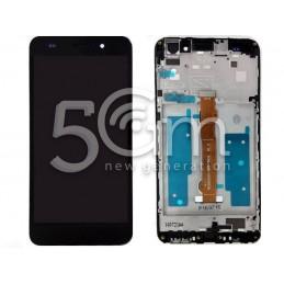 Display Touch Black + Frame Huawei Y6 II
