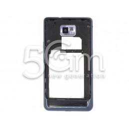Samsung I9105 Blue Middle Frame