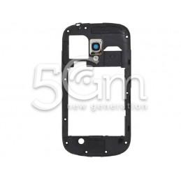 Samsung I8190 Dark Blue Middle Frame