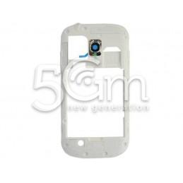 Samsung I8190 White Middle Frame