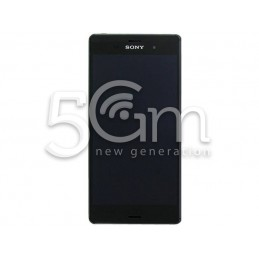 Xperia Z3 Dual Sim D6633 - D6683 Black Touch Display + Frame