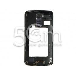 LG K10 4G K420N Black Middle Frame