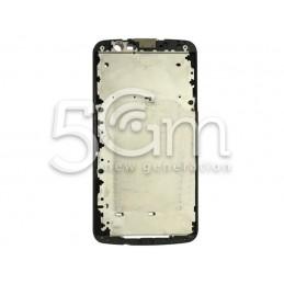 LG K10 4G K420N Black LCD Frame