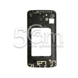LG K8 4G K350N Black Middle Frame