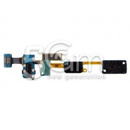 Home Button + Earphone Jack Flex Cable Samsung SM-G610 J7 Prime
