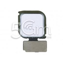 Fingerprint Bianco Huawei P10 Lite