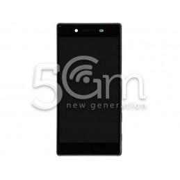 Display Touch Nero + Frame Silver Xperia Z5 Premium E6853