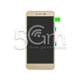Display Touch Gold + Frame Huawei P8 Lite Smart