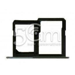 Sim Card/SD Card Tray Black LG X Power K220
