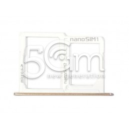 Sim Card/SD Card Tray Gold LG X Power K220