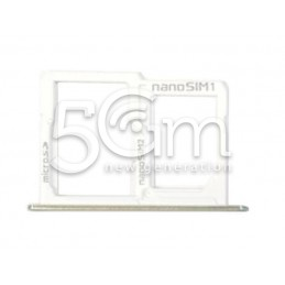 Sim Card/SD Card Tray White LG X Power K220