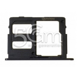 Holder Dual Sim card/SD Card Nero SM-J530