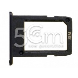Supporto Sim Card Nero Samsung SM-G570F J5 Prime