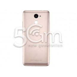 Retro Cover Gold Huawei Y7 Prime