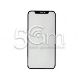 Vetro Nero Con Pellicola Oca iPhone X