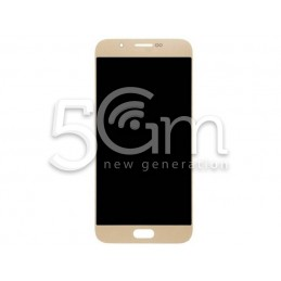 Display Touch Gold Samsung SM-A800 A8