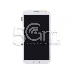 Lcd Touch White With Frame Samsung N7100 Note 2