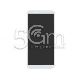 Lcd Touch White Huawei Y9 2018
