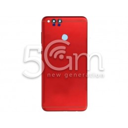 Cover Red + Vetrini Fotocamera + Tasti Laterali Honor 7X