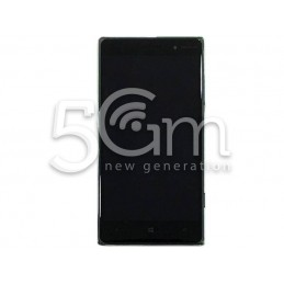 Nokia 830 Lumia Black Touch Display + Dark Grey Frame