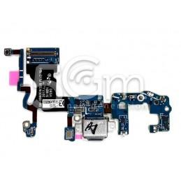 Connettore Di Ricarica + Small Board Flat Cable Samsung SM-G960F S9