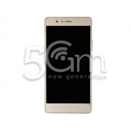 Display Touch Gold + Frame Huawei P9 Lite
