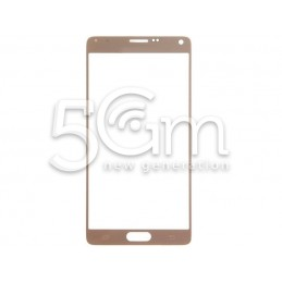 Glass Gold Samsung SM-N910 Galaxy Note 4 No Logo