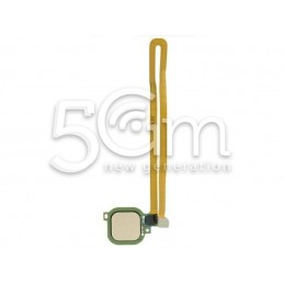 Fingerprint Gold Flat Cable Huawei Nova Plus