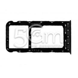 Sim Card + Micro SD Tray Black Huawei P Smart