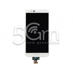 Display Touch Bianco LG K10 4G K420N No Frame