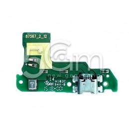 Connettore Di Ricarica + Small Board Huawei Y6 2018