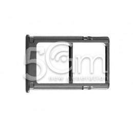 Supporto Dual Sim Card/SD Card Nero Xiaomi Mi 5S