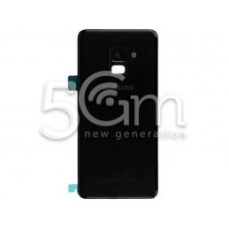 Retro Cover Nero Samsung SM-A530 A8 2018