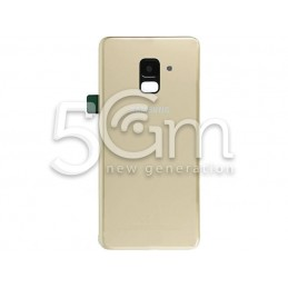 Retro Cover Gold Samsung SM-A530 A8 2018