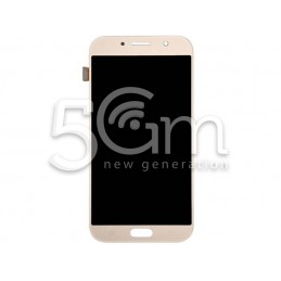 Display Touch Gold Samsung SM-A720 A7 2017