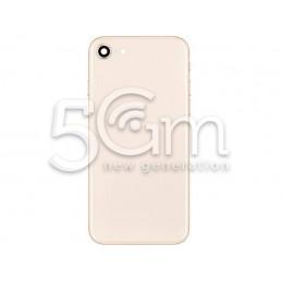 Retro Cover Rose Gold + Frame iPhone 8
