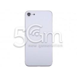 Retro Cover Bianco + Frame iPhone 8