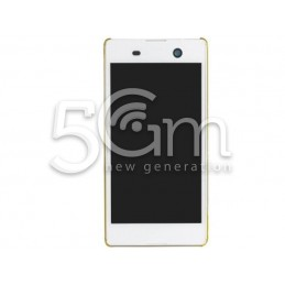 Xperia M5 White Touch Display + Frame