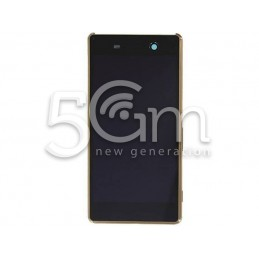 Xperia M5 E5603 Gold Touch Display + Frame