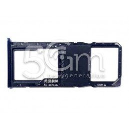 Sim Card + Micro SD Tray Black Huawei P Smart