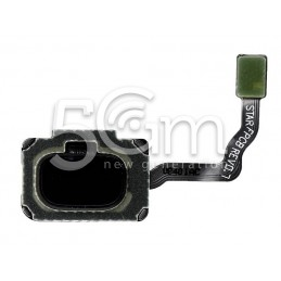 Home Button Silver Flat Cable Samsung SM-G960 S9