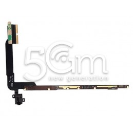 Jack Audio Flex Cable Con Pcb Board Ipad 3 Version Wifi No Logo