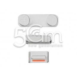 Iphone 5s Grey External Buttons Kit