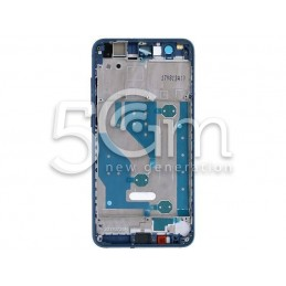 Front Cover Lcd Blue Huawei P10 Lite
